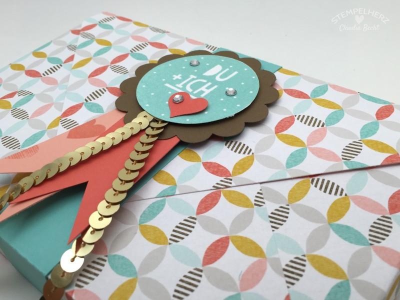 Stampin Up - Stempelherz - Verpackung - Box - Sale-a-bration - Inspiration - Stempelset Wir beide - Envelope-Punchboard - Toffifee-Verpackung Du + Ich 04
