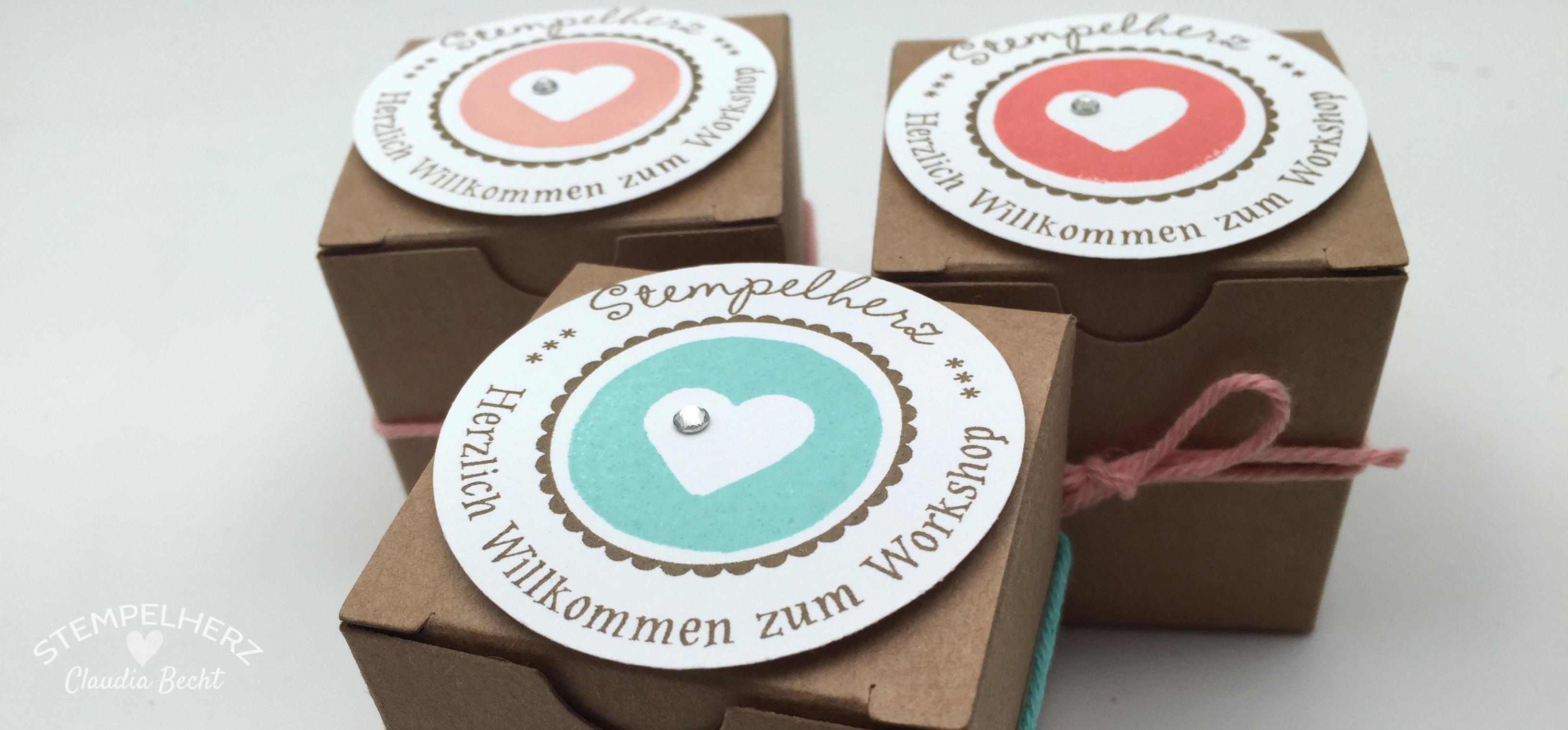 Workshop im Stempelherz-Bastelreich