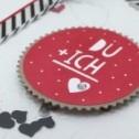 Valentinskarte Du & Ich
