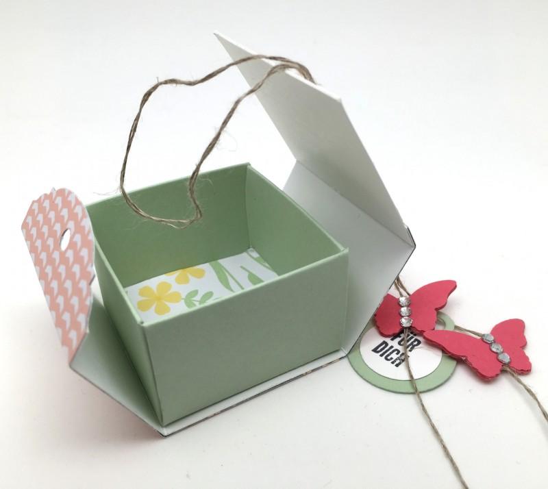 Stampin Up-Stempelherz-Videoanleitung-Verpackung-Box-Schachtel-Mini-Pralinenschachtel-Pralinenbox-Honigsuesse Gruesse-Mini-Pralinenschachteln 05
