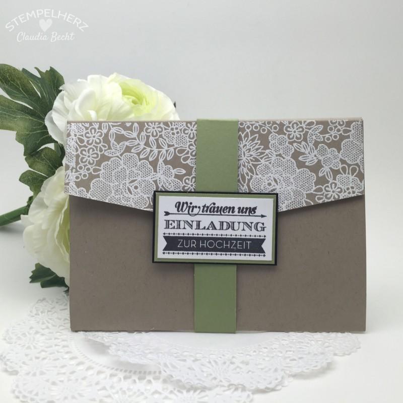 Stampin Up-Stempelherz-Hochzeit-Hochzeitseinladung-Einladung-Karte-Hochzeitseinladung Wir trauen uns Savanne 01