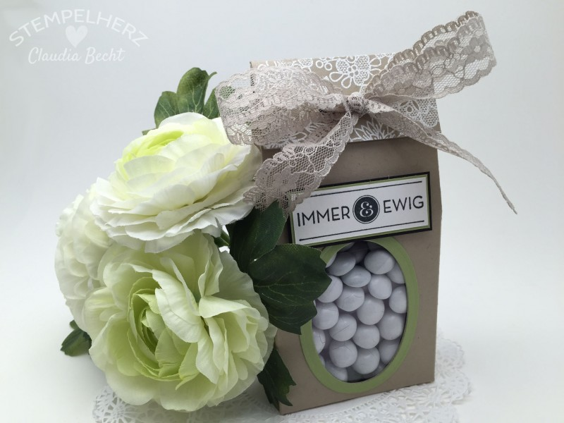 Stampin Up-Stempelherz-Verpackung-Box-Tuete-Hochzeit-Gastgeschenk-Goodie-Verpackung Hochzeitsgoodie 01