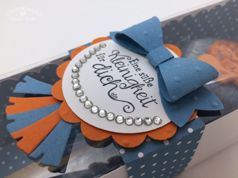 Stampin Up-Stempelherz-Verpackung-Box-Cake Pop Fisch-Kommunion-Kommunionsgeschenk 06