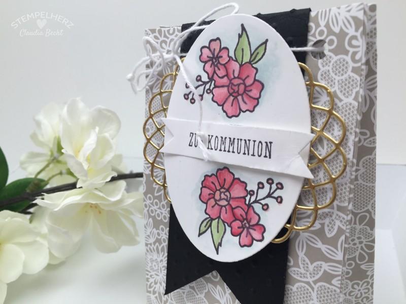 Stampin Up-Stempelherz-Verpackung-Box-Tuete-Kommunion-I Like You-Eins fuer alles-Geschenktuete Zur Kommunion 04
