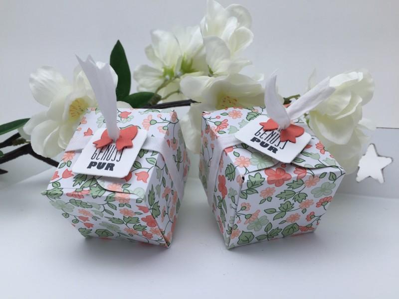 Stampin' Up! - Stempelherz - Verpackung - Box - Mitbringsel - Tee - Tee-Verpackung 01