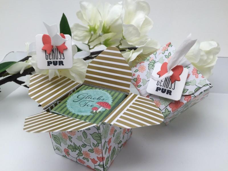 Stampin' Up! - Stempelherz - Verpackung - Box - Mitbringsel - Tee - Tee-Verpackung 03