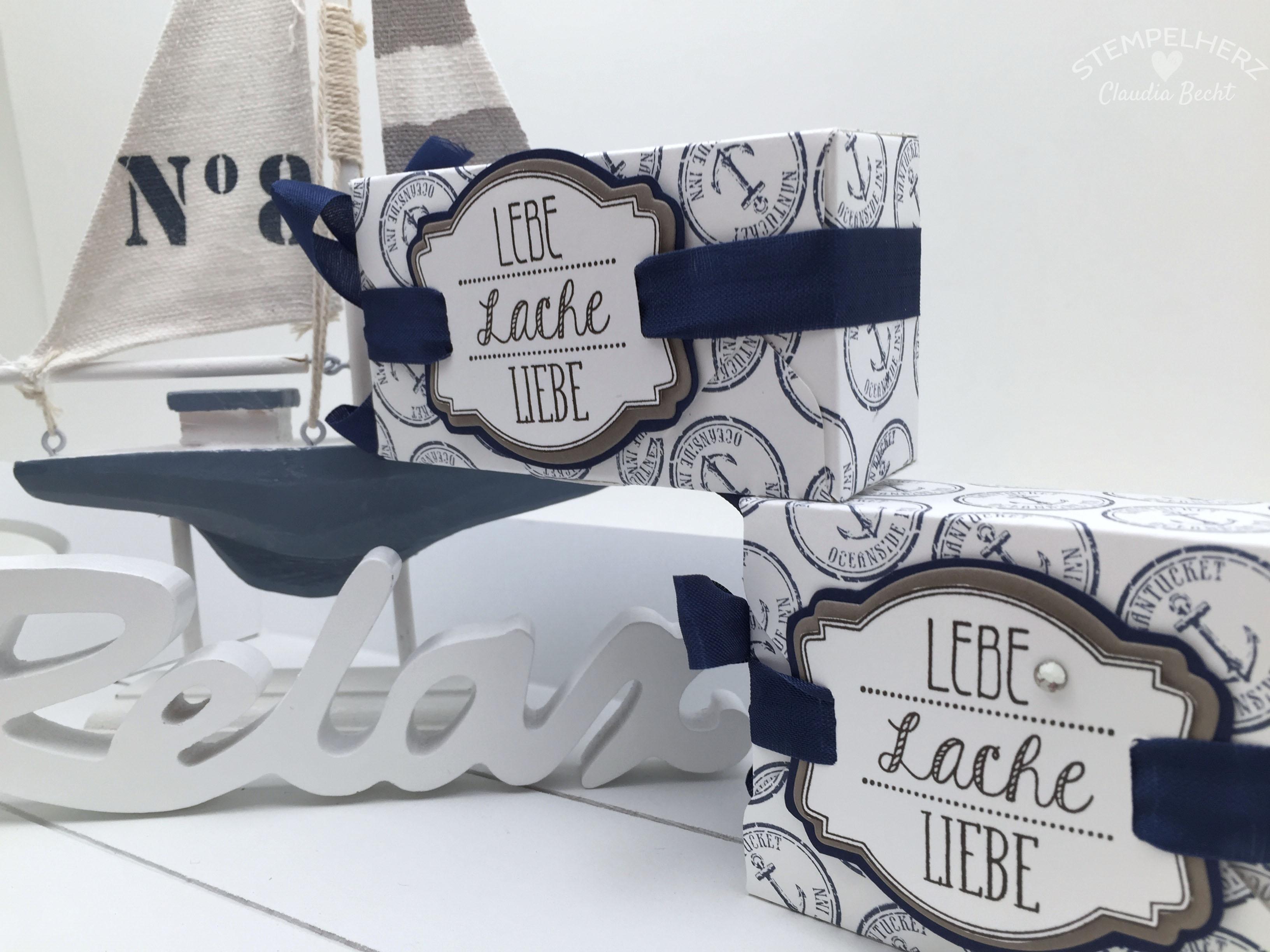 Stampin Up-Stempelherz-Boxen-Verpackung-Ach du meine Gruesse-By the Tide-Verpackung Lebe Lache Liebe 02