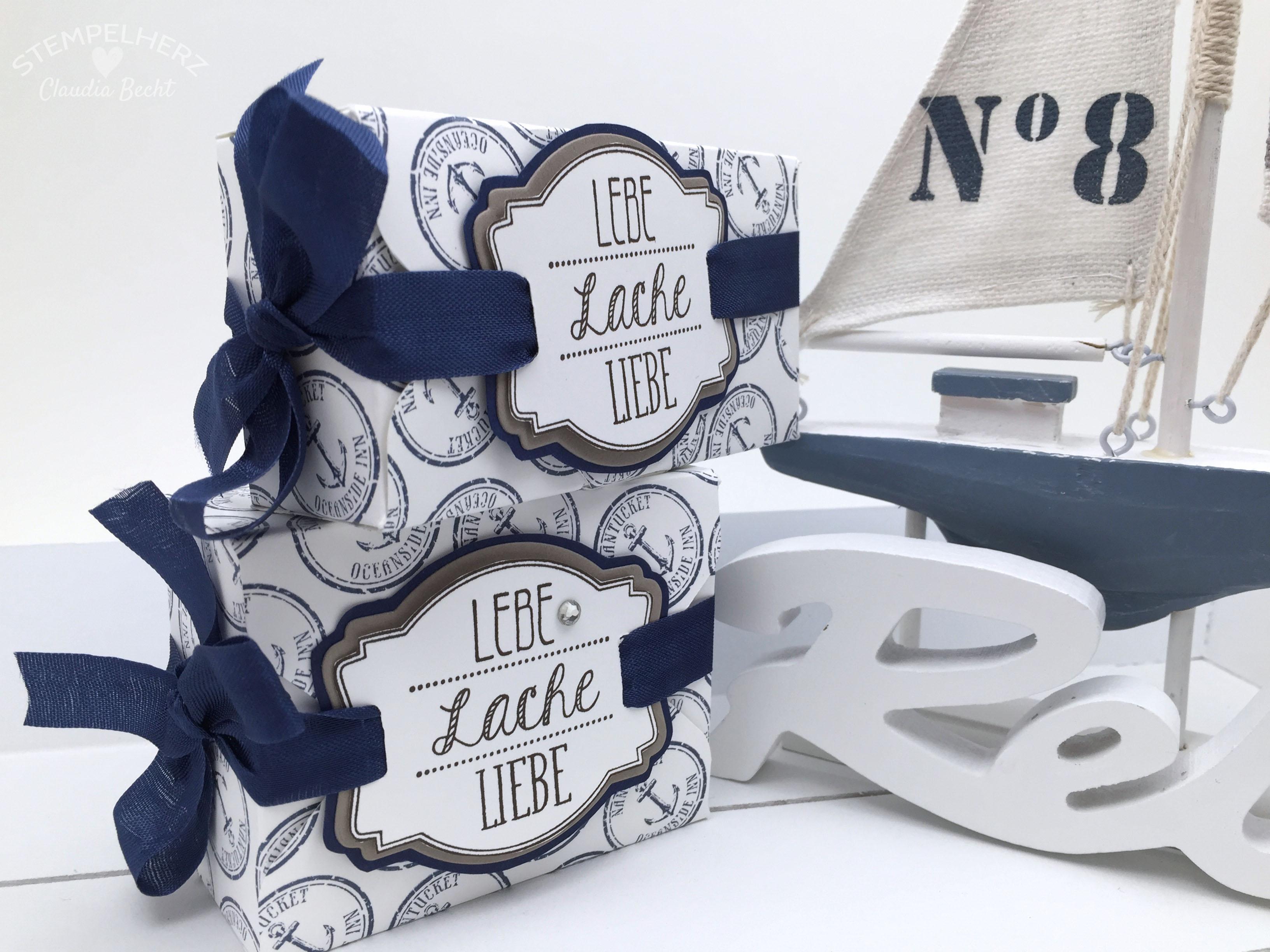 Stampin Up-Stempelherz-Boxen-Verpackung-Ach du meine Gruesse-By the Tide-Verpackung Lebe Lache Liebe 04