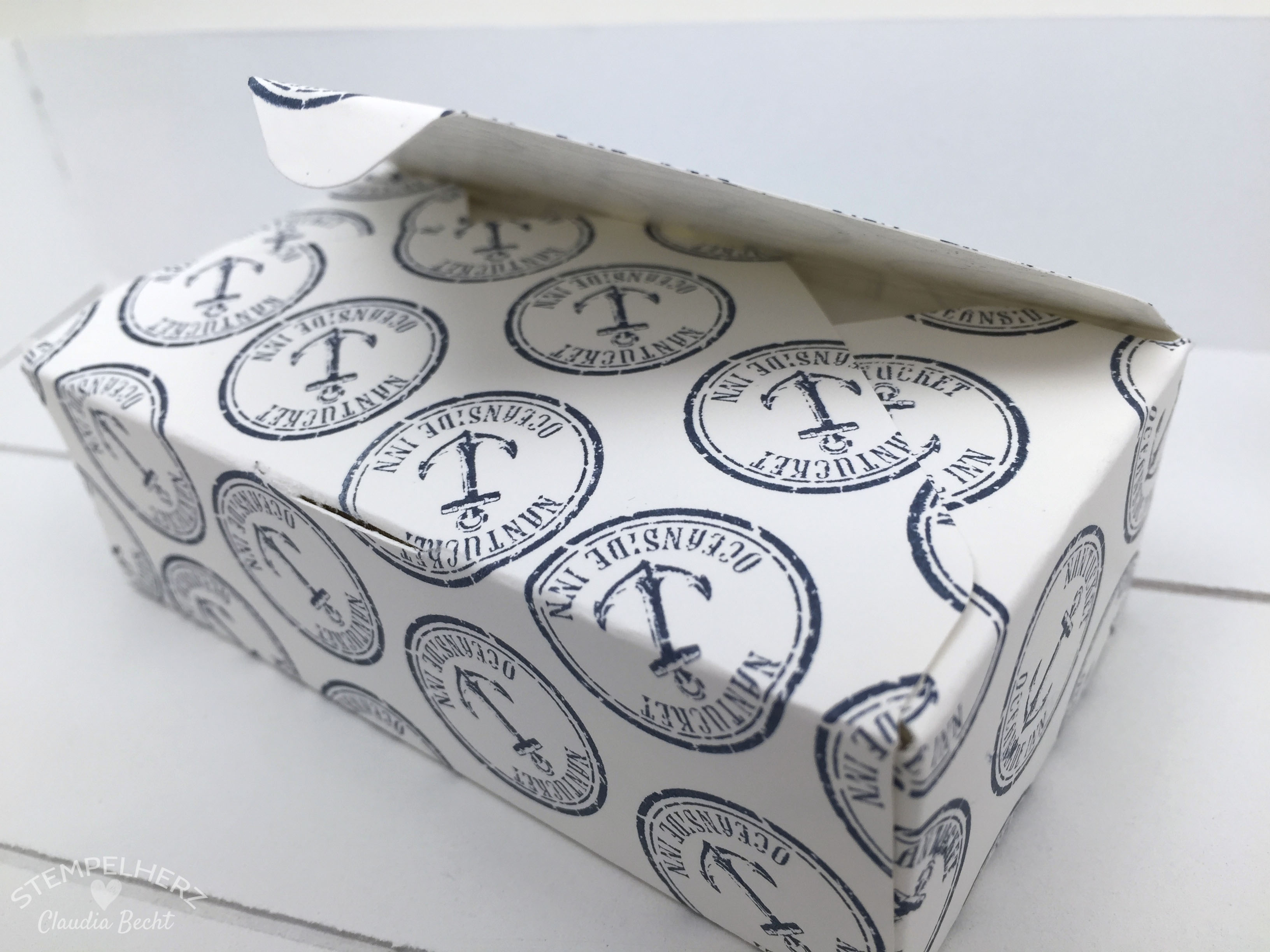 Stampin Up-Stempelherz-Boxen-Verpackung-Ach du meine Gruesse-By the Tide-Verpackung Lebe Lache Liebe 07