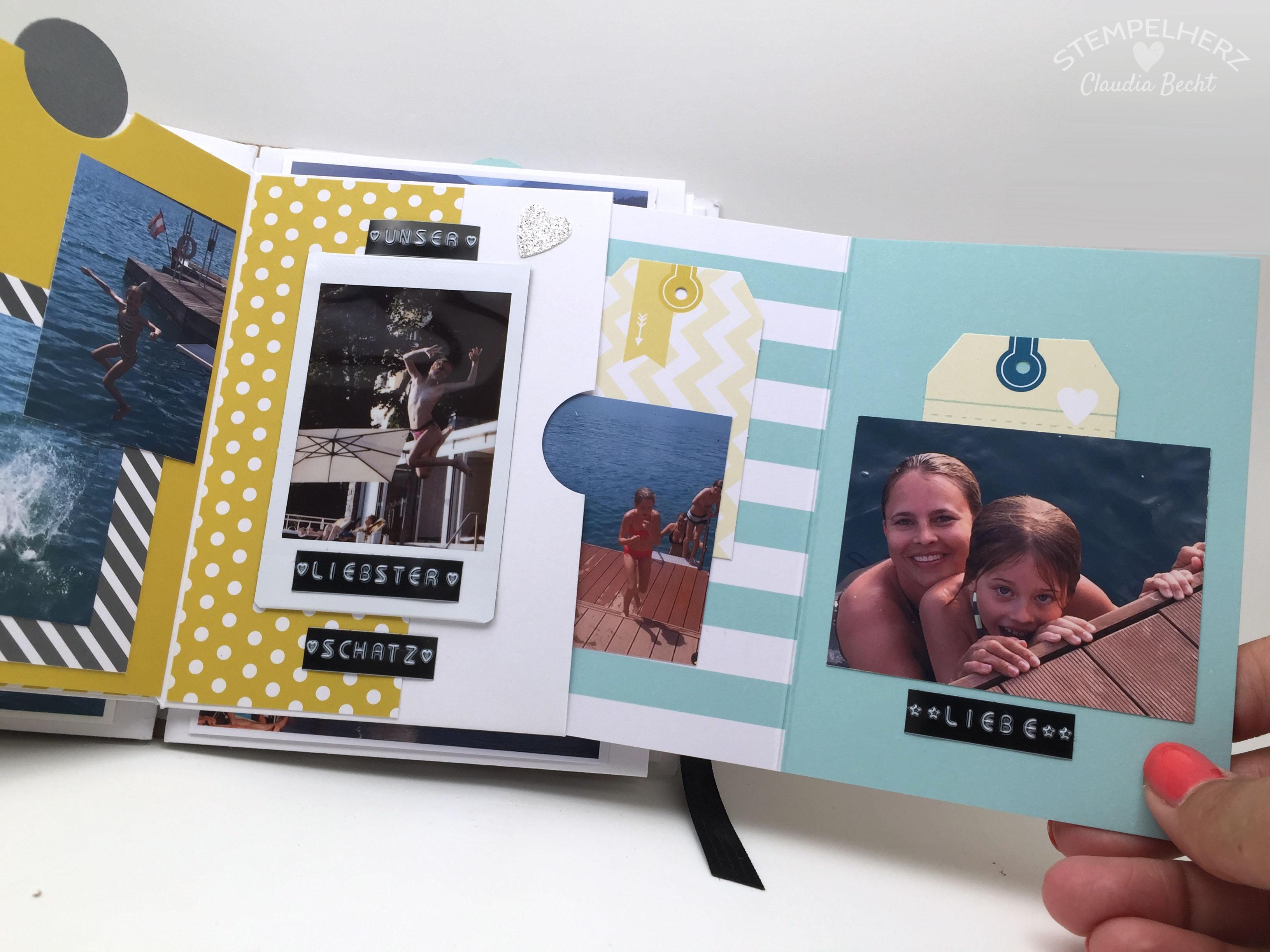 Stampin Up-Stempelherz-Album-Minibook-Minialbum Wolfgangsee 14