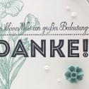"""""""Zeig es"""" am Montag – Dankeskarte Ein kleines Wort"""
