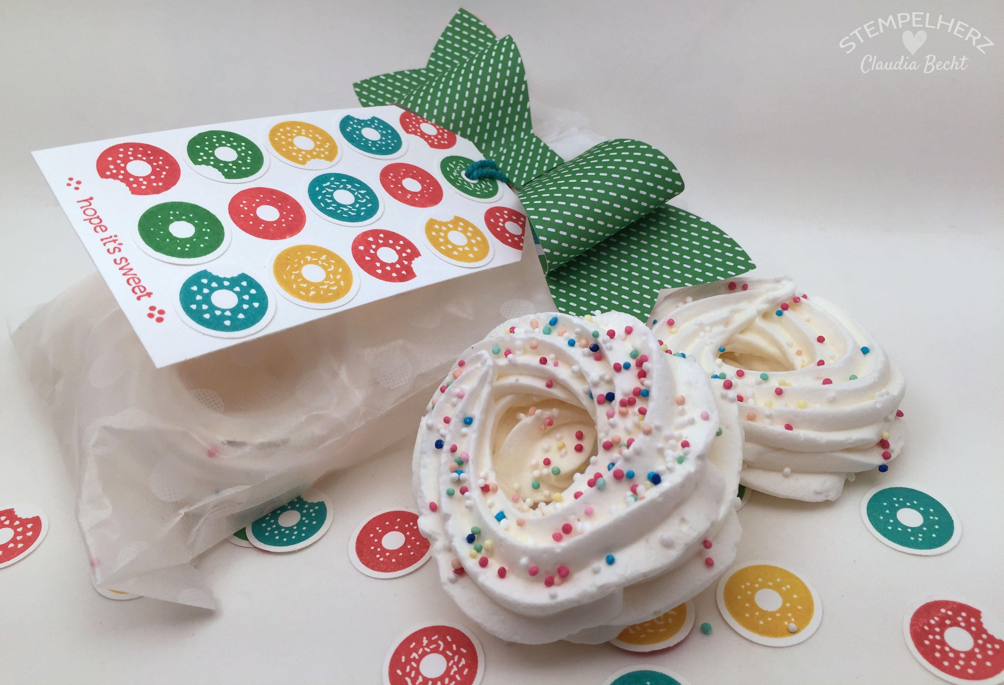 Stampin Up-Stempelherz-Geburtstag-Verpackung-Bag-Geburtstagskarte-Zeig es am Montag Geburtstagsset Sprinkles on Top 19.3b