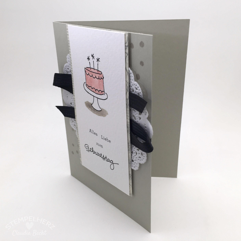 Stampin Up-Stempelherz-Geburtstagskarte-Zeig es am Montag Karte Alles Liebe zum Geburtstag 02b