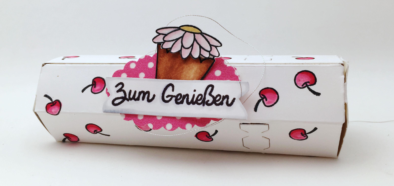 Stampin Up-Stempelherz-Verpackung-Cupcake-Verpackung Cupcake 01b