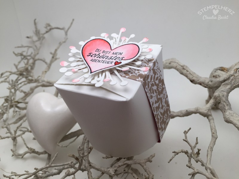 Stampin Up - Stempelherz - Valentinstag - Valentine - Box - Take out Box - Liebe ohne Grenzen - Valentins-TakeOutBox 02