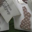 Osterhasen-Geschenkverpackung zu verschenken…