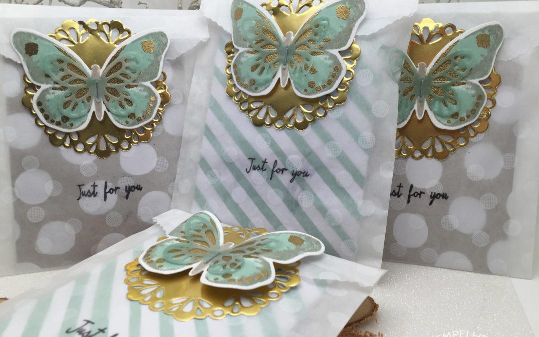 Geschenktüte Schmetterling