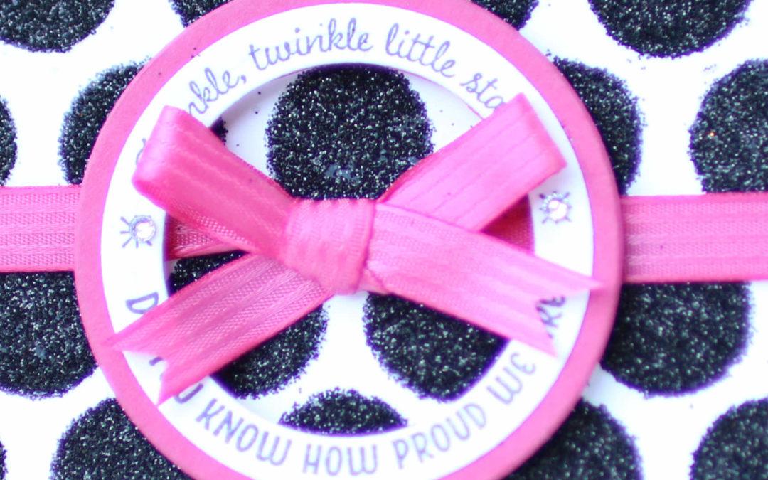 Glückwunschkarte Twinkle twinkle little star