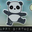 Eine Geburtstagskarte für meinen Panda