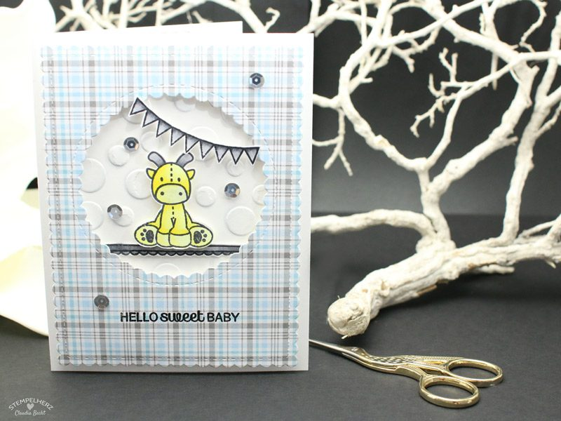 Stampin-Up---Stempelherz---Babykarte---Mama-Elephant---Babykarte-Hello-Sweet-Baby-01