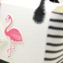 Team-Swaps und das Team-Bastelprojekt… die Strandtasche Flamingo