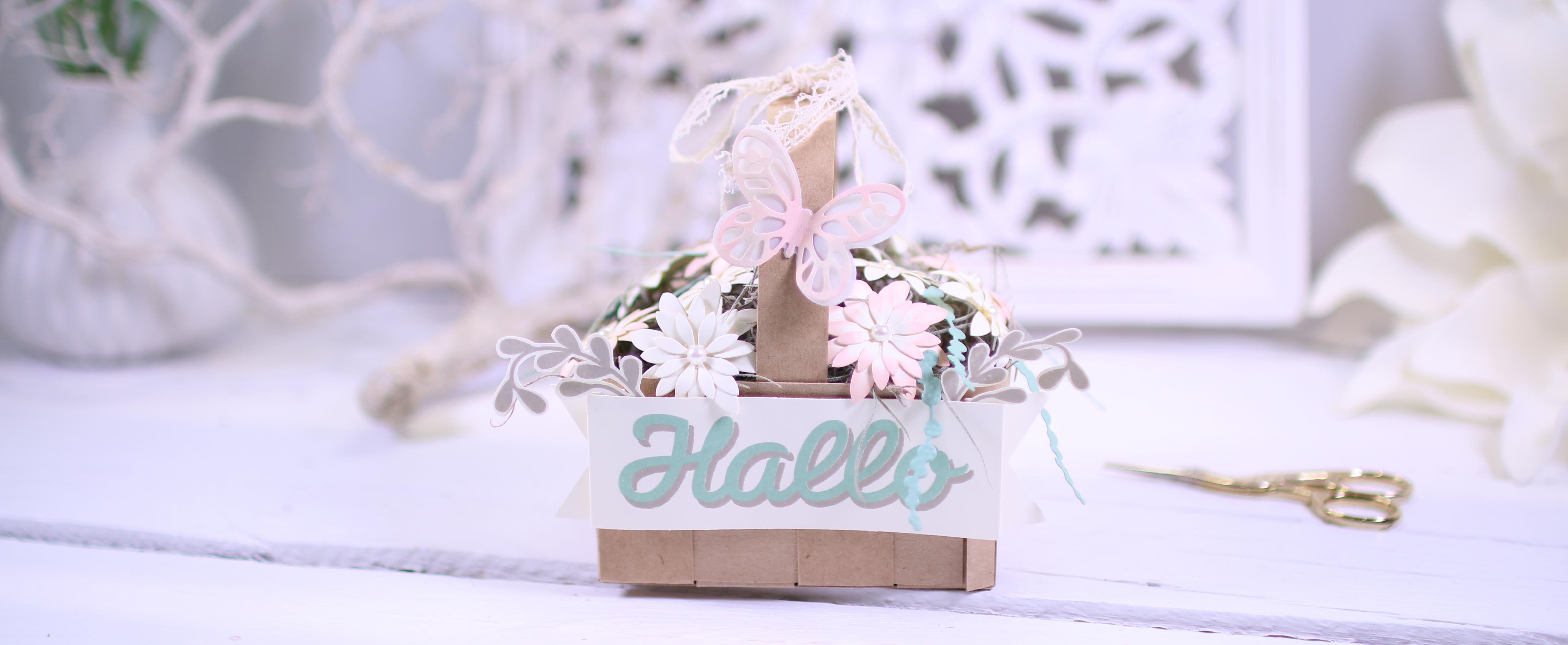 Team-Blog Hop Stempelherz – Thema: Muttertag – Blumenkorb