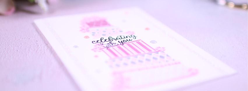 Hochzeitskarte Celebrating with You