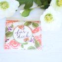 Umschlag-Verpackung Durch die Blume