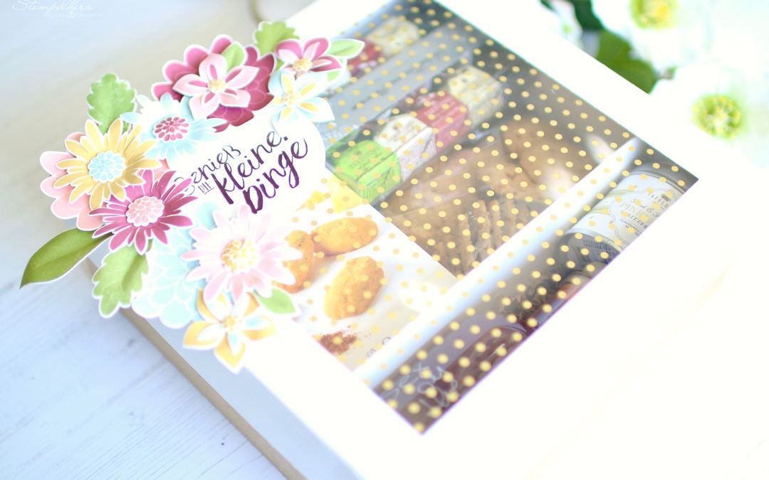 Geschenkbox Flower Patch