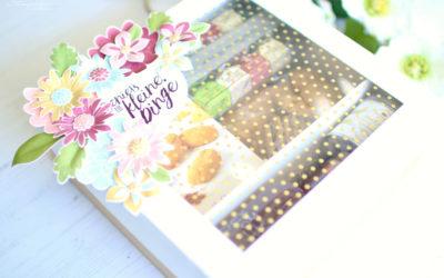 Geschenkbox Flower Patch