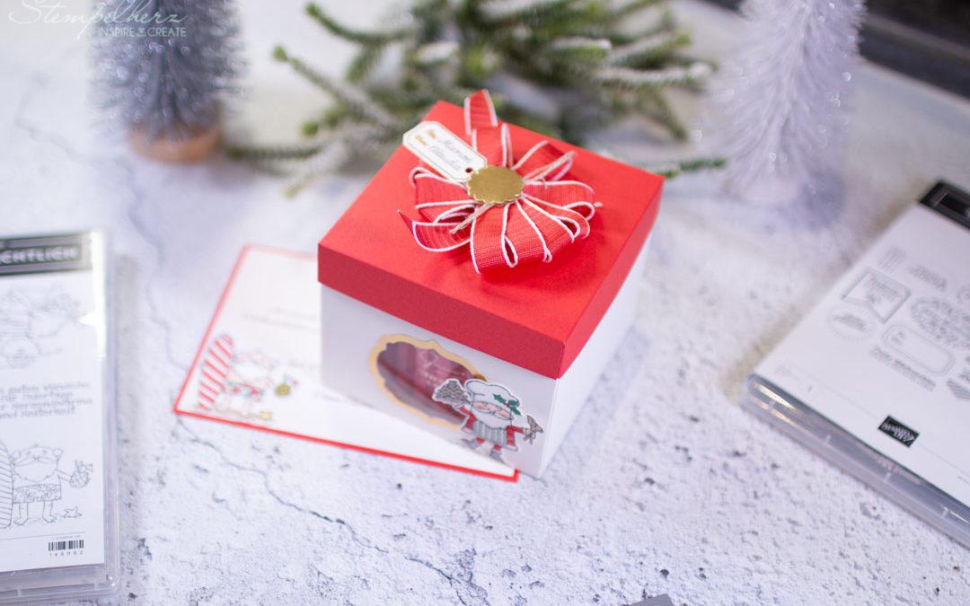 Weihnachtsmandeln in der Box