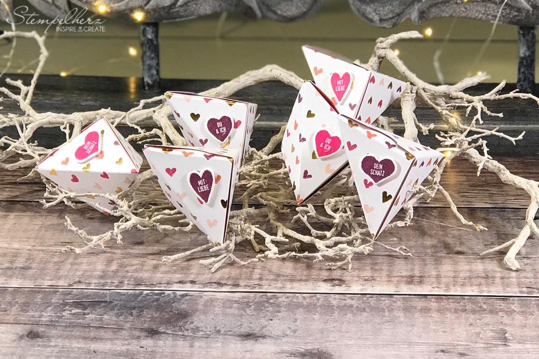 Wickelbox mit Herz
