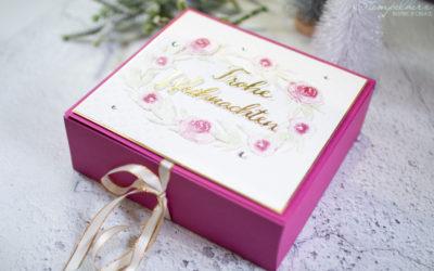 Weihnachtscookie-Box Eisblueten