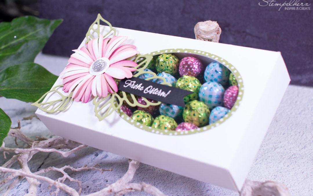 Ostereierbox mit Blume