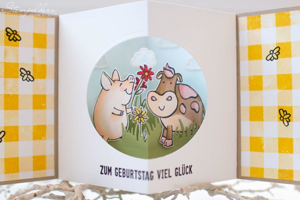 CenterCard mit Stampin' Up!