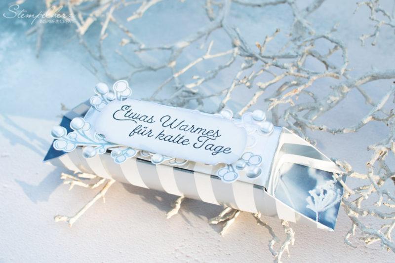 OneSheetBox mit dem Stempelset Winterzweige von Stampin' Up!