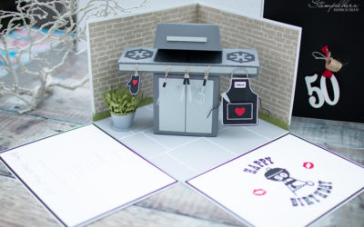 Explosionbox mit Grill zum 50sten