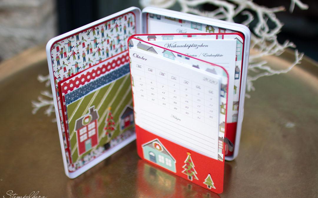 Weihnachtsplaner in der Dose – Coming Home