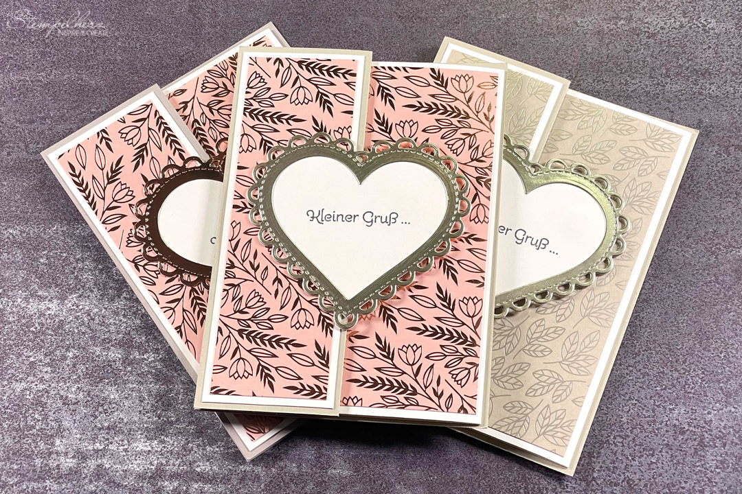 Stampin' Up! Zany Zebras Stanzform Perfekte Paeckchen Celebration of Tags