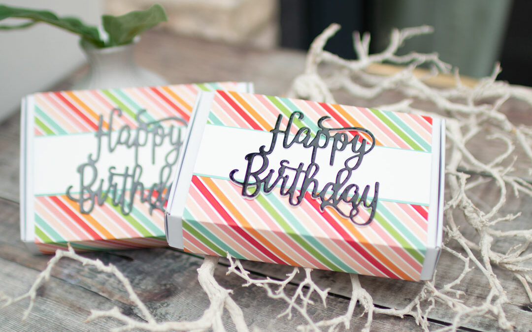 Geburtstagsbox Paper Pumpkin-Schachtel
