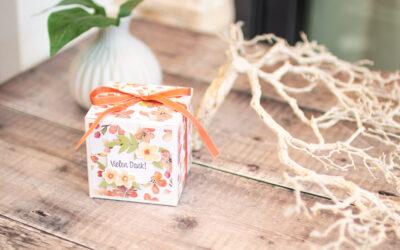 Geschenkverpackung Seife