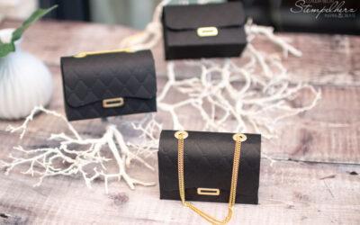 Gutscheinverpackung Handtasche