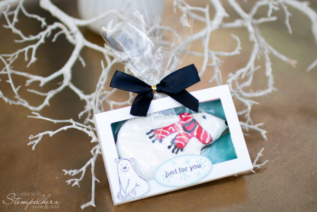 Stampin Up - Stempelherz - Warm and Toasty - Keksverpackung Just for You