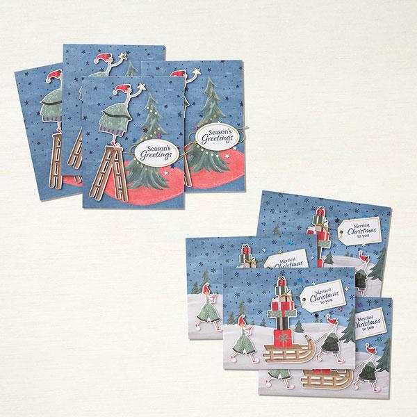 Stampin' Up! - Produktset Verspielte Weihnachten - Stempelherz